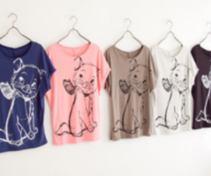 fashion, cat, and t-shirt image