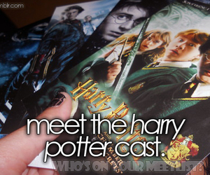 cast, harry potter, and list image