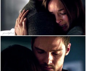 couple, beauty and the beast, and batb image