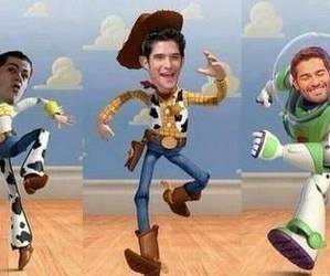 teen wolf, funny, and toy story image