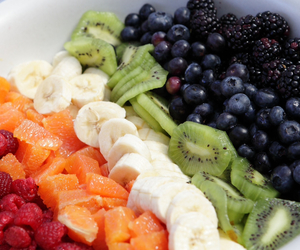 fruit, banana, and delicious image