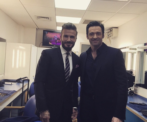 crush, David Beckham, and hugh jackman image