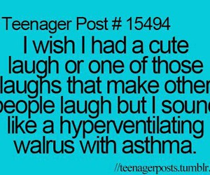 laugh, funny, and teenager post image