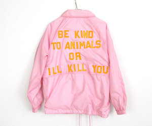 animal and pink image