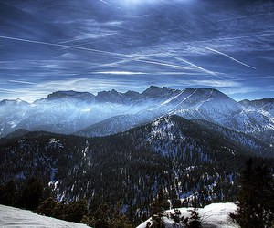 beauty, landscapes, and mountains image