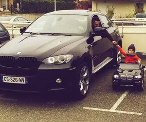 bmw, car, and baby image