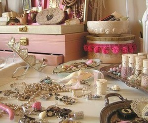 pink, girly, and accessories image