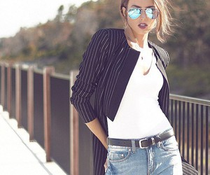 casual, fashion, and glasses image