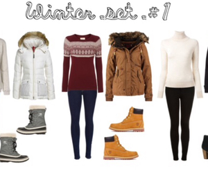 sweaters, outfit, and Polyvore image