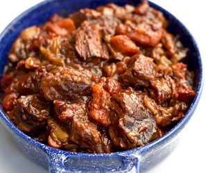 meat, stew, and beef image
