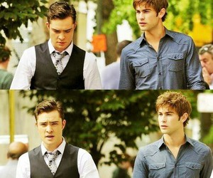 bff, Chace Crawford, and chuck bass image