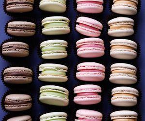 sweet, food, and macaron image