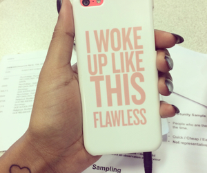 flawless, iphone, and beyoncé image