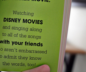 disney, text, and friends image
