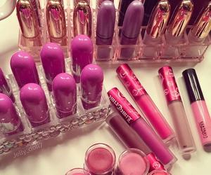 make up, lipstick, and beauty image