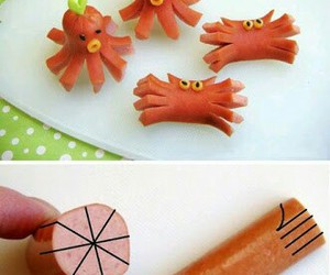 food, diy, and octopus image
