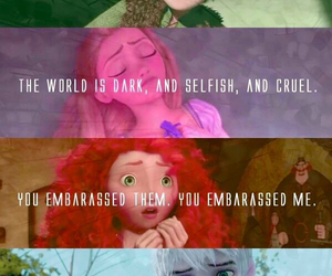 disney, brave, and tangled image