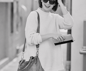 bw, tumblr, and lily collins image