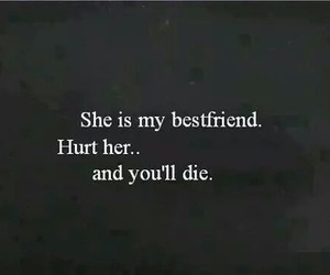 die, hurt, and best friends image