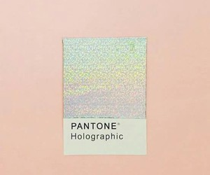 pantone, holographic, and pink image