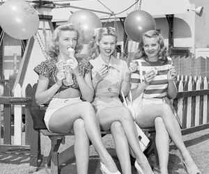 50's, fifties, and old image