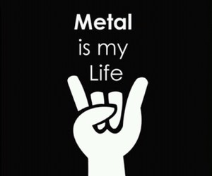 metal, music, and rock image