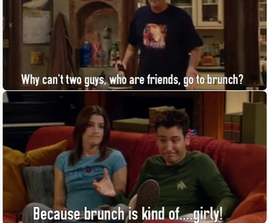 brunch, himym, and how i met your mother image