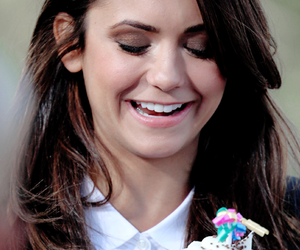 candid, Nina Dobrev, and interview image