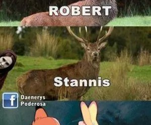 game of thrones, robert, and renly image