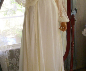 medieval, white, and nightgown image