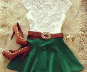 fashion, look, and dress image