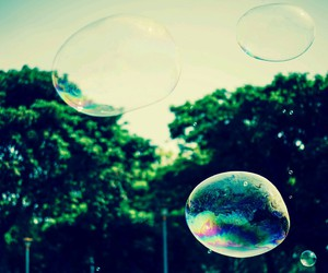 bubbles, city, and place image