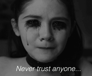 cry, girl, and trust image