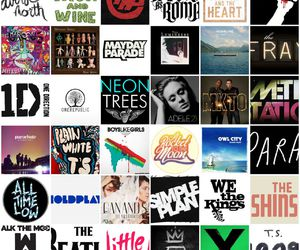 all time low, boys like girls, and coldplay image