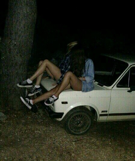 amigas, car, and girls image