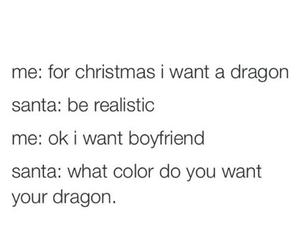 christmas, dragon, and boyfriend image