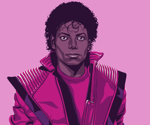 80s, mj, and thriller image
