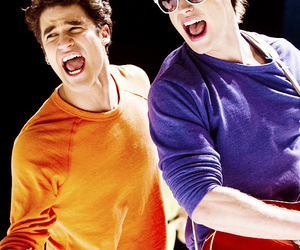 glee, chord overstreet, and darren criss image