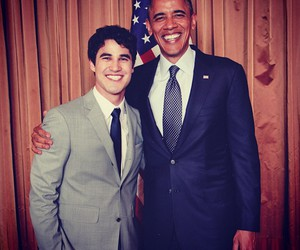 glee, smile, and darren criss image