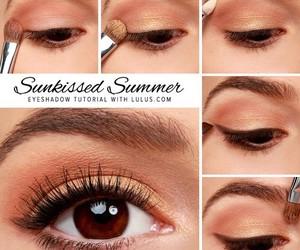 makeup, eyeshadow, and summer image