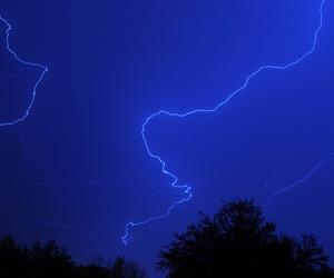 blue, lightning, and sky image
