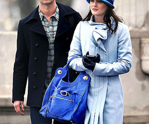 gossip girl and blair and nate image