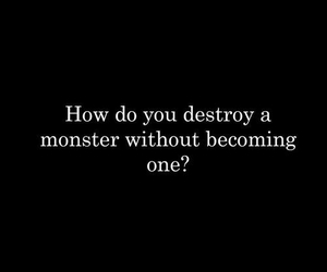 monster and quote image