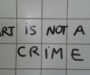 art, cool, and crime image