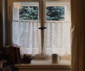 window and books image
