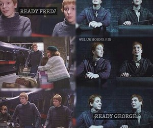 harry potter, brothers, and fred and george image