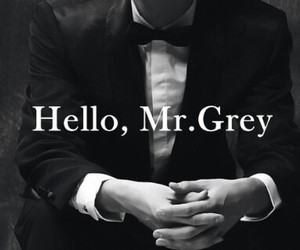 grey, christian grey, and fifty shades of grey image