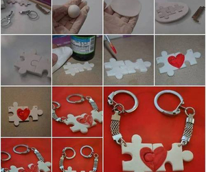 diy, heart, and puzzle image