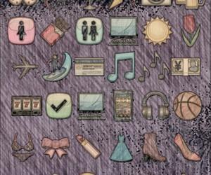icons, wallpaper, and emoji image