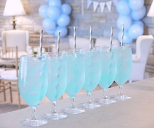 blue, cool, and cocktail image